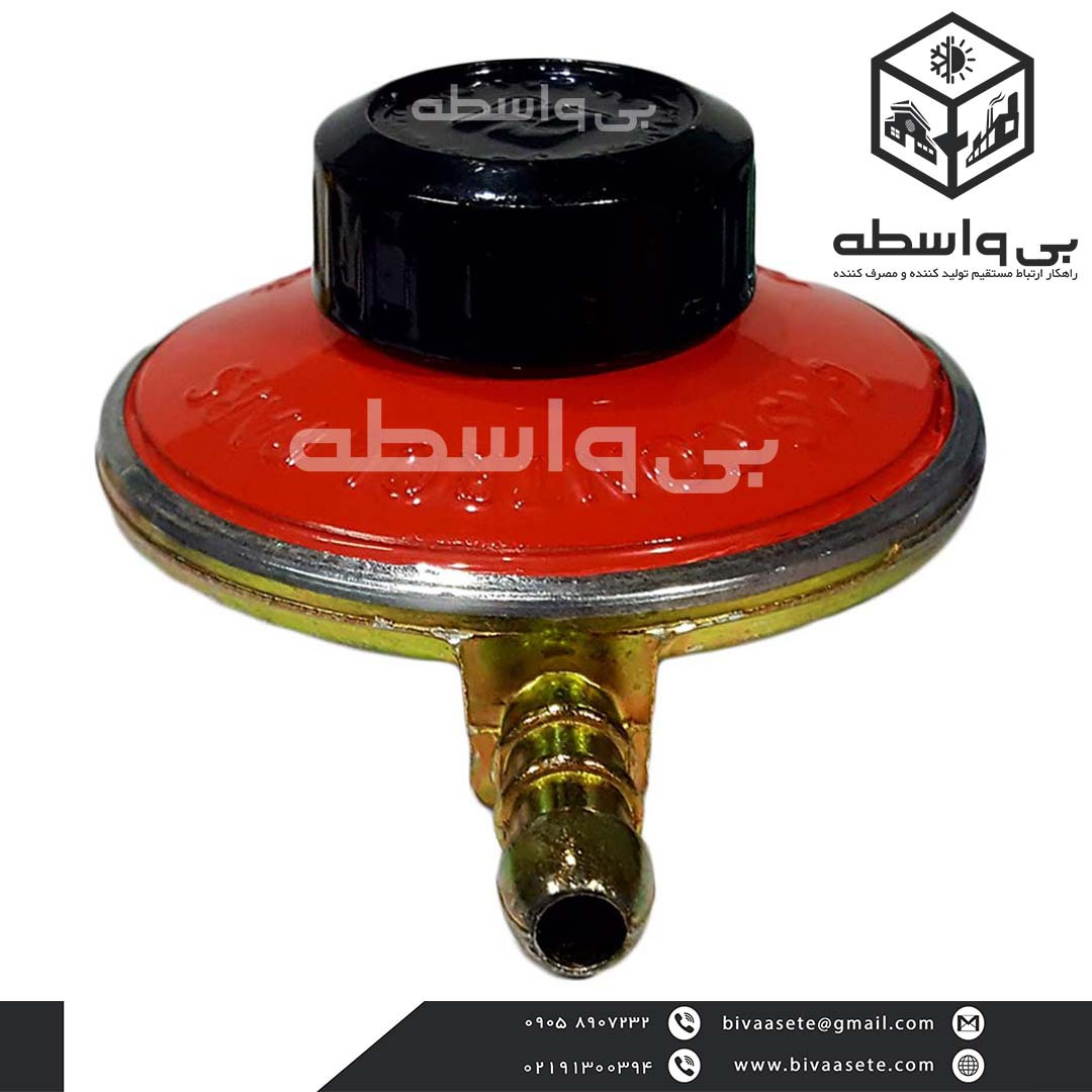 رگلاتور کپسول گاز پرسی قابل تنظیم گاز کنترل پارس