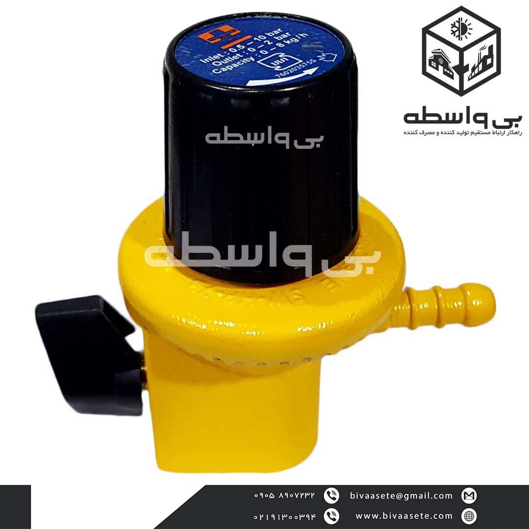 رگلاتور گاز سوزنی فشار قوی گاز کنترل پارس